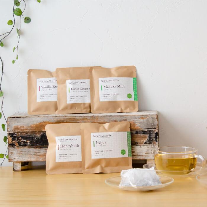ニュージーランドティー5種 カフェインフリーセット ハーブティー