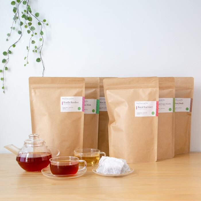 ニュージーランドティーエコパック(100包入)紅茶&ハーブティー