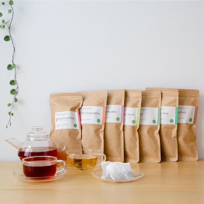 ニュージーランドティーエコパック(15包入)紅茶&ハーブティー