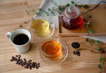 無農薬コーヒー&紅茶